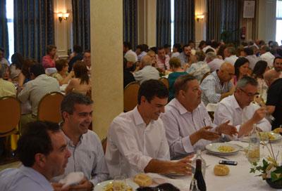 Pedro Sánchez inicia su carrera a la Secretaría General Socialista en Talavera