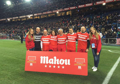 Un talaverano lanza un penalti en el Calderón