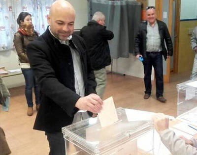 Yo voto más que ilusionado, enamorado