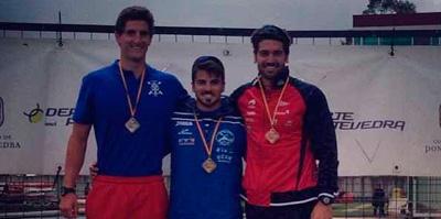 Paco Cubelos se proclama Campeón de España en Pontevedra y se asegura el Mundial