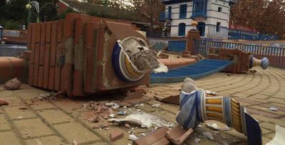 El Ayuntamiento plantea cerrar el Prado tras los destrozos