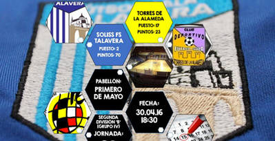 El Soliss FS Talavera busca seguir de tres en tres y una carambola