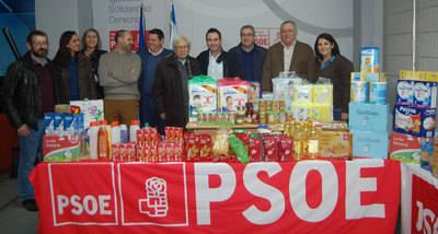 El PSOE celebra sus migas más solidarias