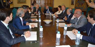 Ramos recalca el interés de los operadores con Talavera