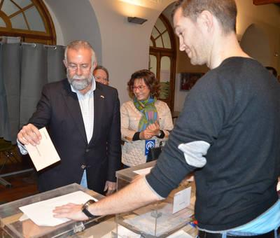 Ramos vota y alaba la normalidad electoral