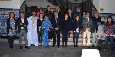 Talavera recibe a las delegaciones de las ciudades hermanadas en la Puerta Noble del Ayuntamiento