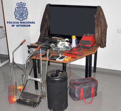 Detenido como autor de robos en domicilios