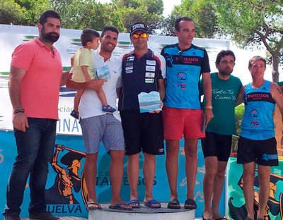 Rubén Gutiérrez gana la Travesía de Cartaya