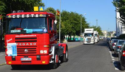 San Cristobal convierte en una fiesta las calles de Talavera