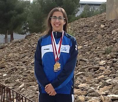 Sara Colilla hace pleno de medallas en el máster