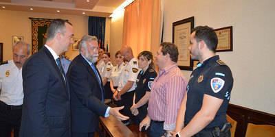 El Ayuntamiento y el secretario de Estado de Seguridad firman VIOGEN