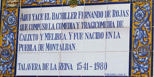 Ruta de Fernando de Rojas s�, Ruta de la Celestina no