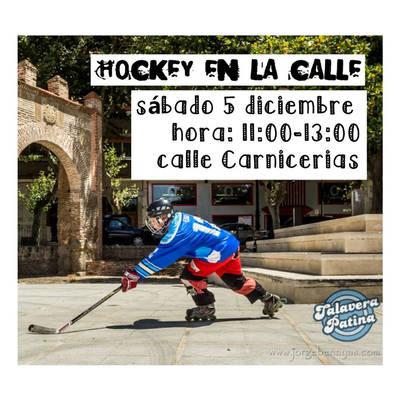 La práctica del Hockey se desplaza a la calle