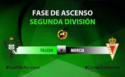 El Toledo se las verá con el Real Murcia