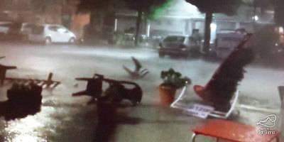Espectacular video de la tormenta en Madrigal de la Vera