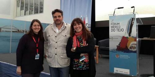 Concejales de Ganemos de Talavera y Toledo asisten al II Foro ibérico del Tajo en Portugal