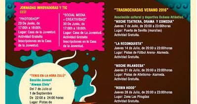 Llegan a Talavera las 'Trasnochadas Verano 2016'