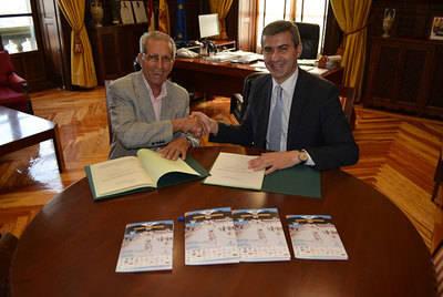 La Diputación con el 50 Trofeo Bahamontes