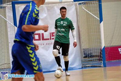 Víctor López es baja en el FS Talavera