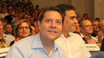 Pedro Sánchez avala la candidatura socialista de Emiliano García-Page