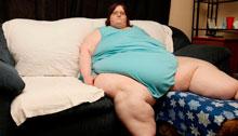 La mujer más gorda del mundo desea perder 120 kilos para casarse