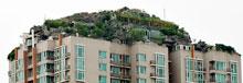 Construye una montaña sobre un edificio de 26 pisos