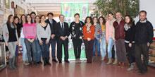 Caja Rural CLM visita las instalaciones de APACE Toledo y se interesa por su proyecto ganador de Workin 2014