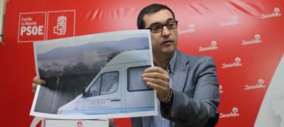 El PSOE pide explicaciones al Diputado de Fomento del Empleo preguntando