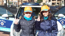Alumnos del Colegio Ruiz de Luna visitan el nuevo Centro de Educación Vial
