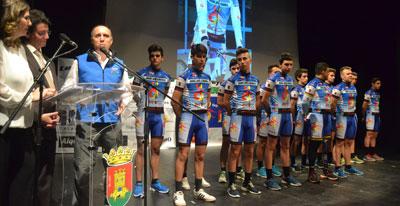 Puesta de largo del Club Ciclista Joaquín Polo