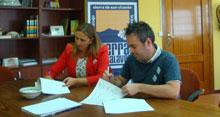 Convenio entre ADC-Tierras de Talavera y Desguazauto Talareina S.L.