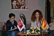 Álvaro Cabo causa sensación en Túnez