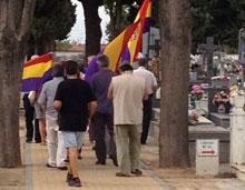 El Foro de la Memoria rindió homenaje a las víctimas del franquismo en Talavera