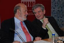 """Barón y Gil-Robles apuestan en la UCLM por la creación de un """"verdadero Gobierno europeo"""""""