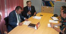 Gregorio se reúne con el alcalde de Lominchar para abordar la seguridad en el municipio