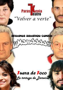 Paraskenia y Seguimos Siguiendo Comedy triunfan en Badajoz
