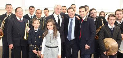 Page visitó Navalcán y se encuentra en Bruselas para abordar asuntos de 'interés para la región'