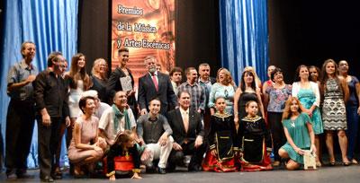 Reconocimiento a los artistas locales en los XV Premios de la Música y Artes Escénicas 'Ciudad de Talavera'