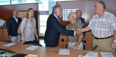Ramos destaca la importancia de la Lonja Interactiva Nacional de Ganado Vacuno de Carne en Talavera