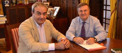 Tizón se interesa por el arreglo de una carretera estratégica de Villaluenga