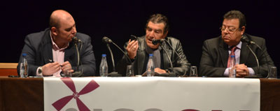 Magistral charla sobre justicia y educación del juez Emilio Calatayud en el Teatro Palenque