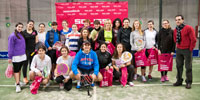 Éxito participativo en el Seminario femenino del circuito Soliss Pádel Tour