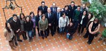 Bravo y Rivas visitan la sede del Dipudinamiza en Mora