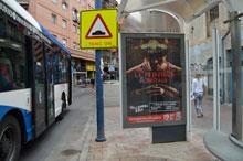 Puerta de Zamora ya cuenta con nueva marquesina de autobuses