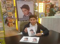 Álvaro Cabo firma su libro en El Corte Inglés