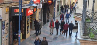 Normalidad en las calles a pesar de la expectación generada por la celebración de la I 'Jornada Inconformista'