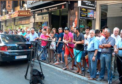 El suceso sigue levantando expectación en Talavera y su comarca. (Foto:C.Granda)