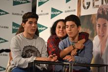 Gemeliers causan sensación en El Corte Inglés de Talavera