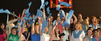 Graduación de la promoción 2010-2014 de la Facultad de Ciencias Sociales de la UCLM