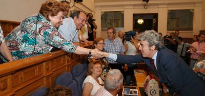 """Leandro Esteban afirma que el Parlamento regional representa """"la esencia de la democracia en Castilla-La Mancha"""""""